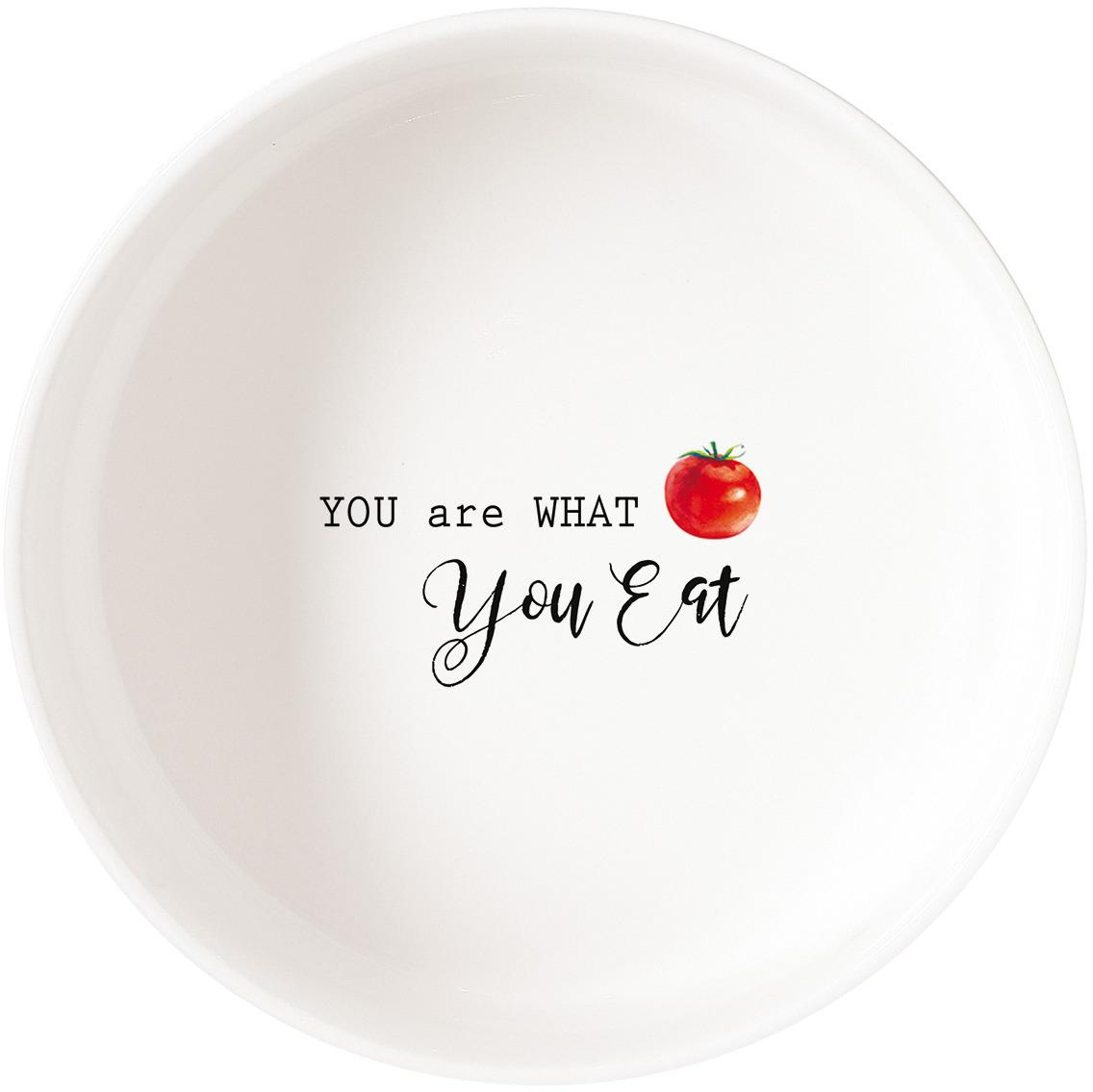 Салатник Easy Life Kitchen Elements, цвет: белый, 1000 мл. EL-R1909/KITE