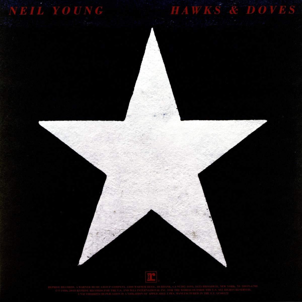 Нил Янг Neil Young. Hawks & Doves (LP)
