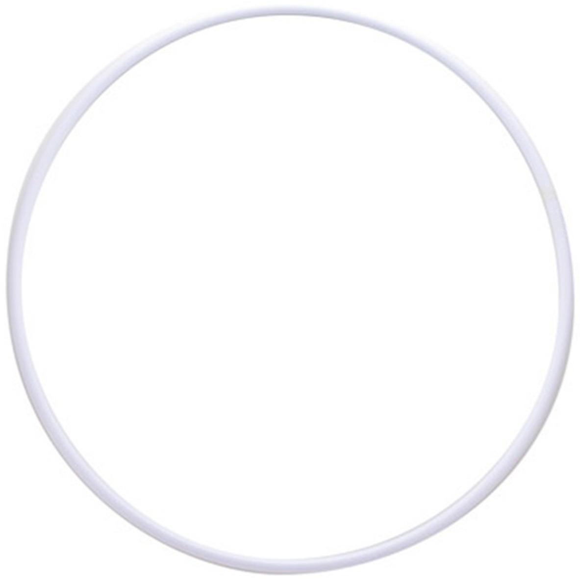 Обруч гимнастический Indigo, цвет: белый, диаметр 90 см сумка чехол для обруча indigo цвет салатовый диаметр 60 х 90 см