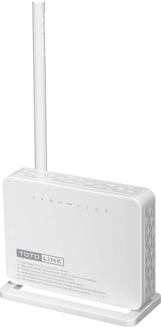 DSL модем Totolink ND150, цвет: белый