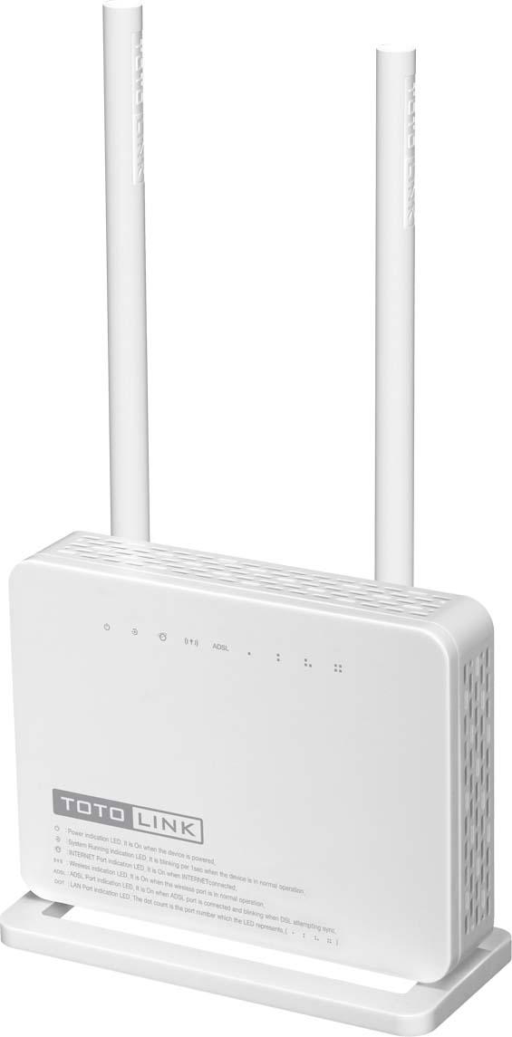 DSL модем Totolink ND300, цвет: белый