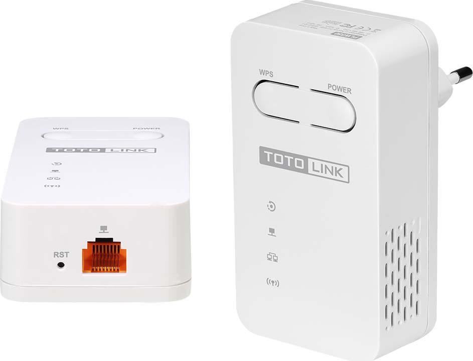Адаптер Powerline Totolink PLW350KIT, цвет: белый wi fi адаптер totolink n150usm цвет белый