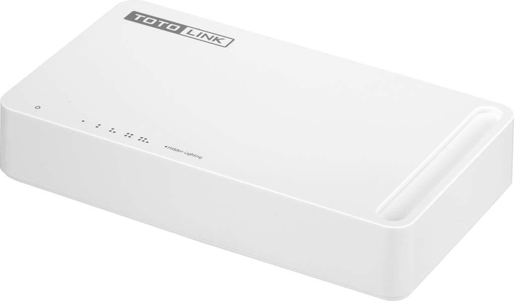 Коммутатор Totolink S505G, цвет: белый