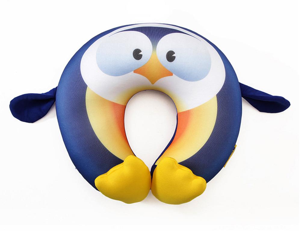 Фото - Подушка для путешествий детская Travel Blue Fun Pillow Пингвин pantheon u pillar pillow travel pillow с капюшоном с капюшоном с капюшоном u образная подушка для шеи car office nap pillow navy со шляпой