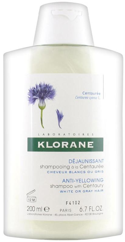 Шампунь для волос Klorane, с экстрактом василька, 200 мл где купить шампунь klorane