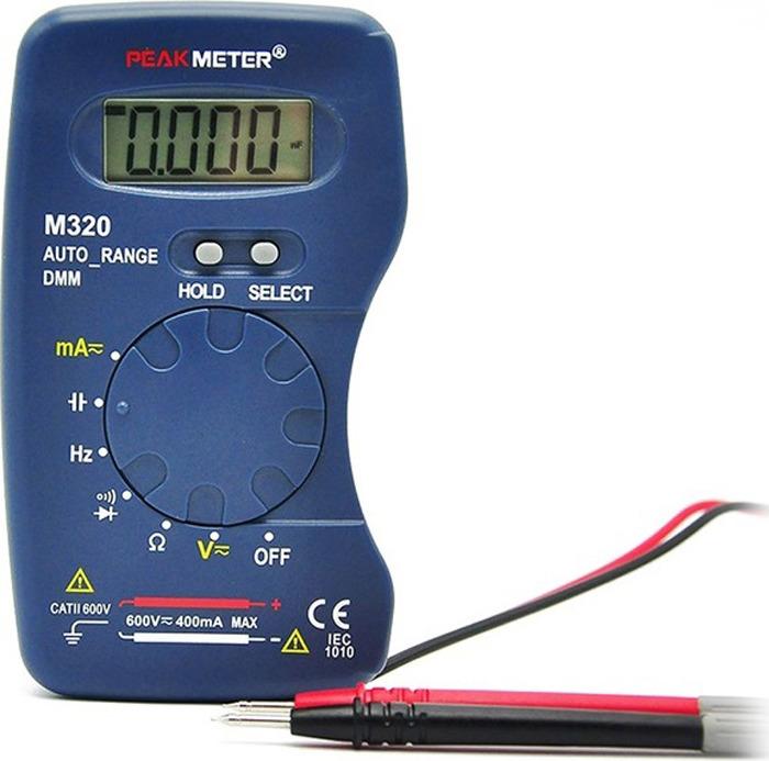 Мультиметр Peakmeter PM320, цифровой цена