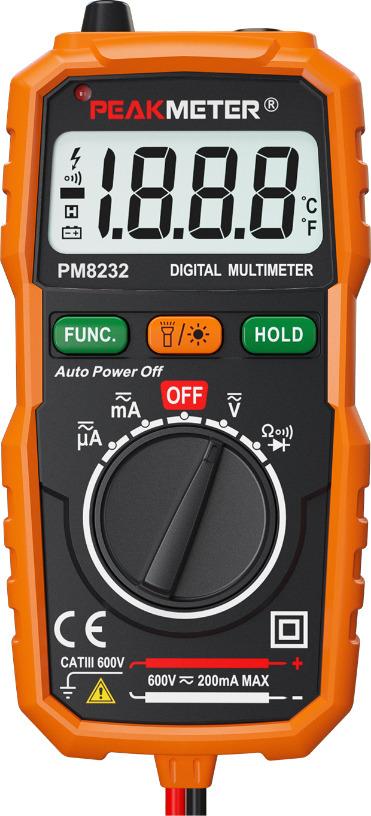 цена на Мультиметр Peakmeter PM8232, цифровой