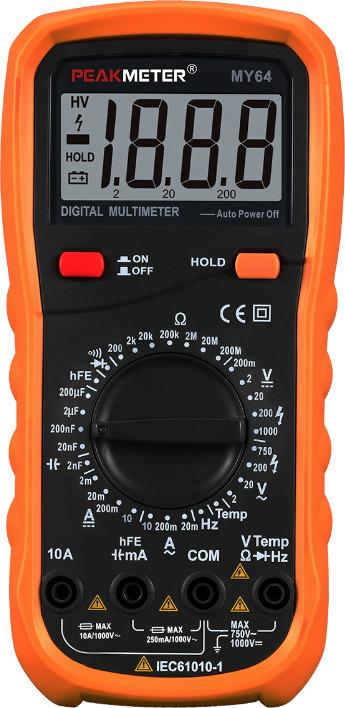 Мультиметр Peakmeter PM64, цифровой цена