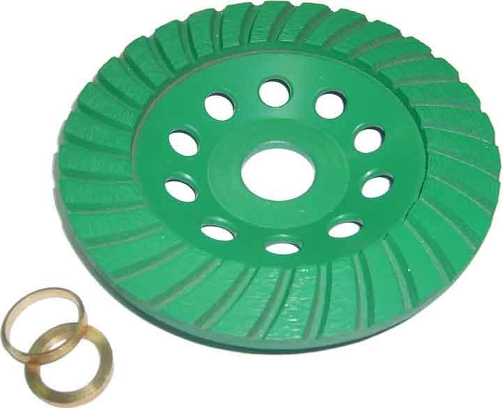 цены на Чашка шлифовальная Skrab Turbo, 125 мм  в интернет-магазинах