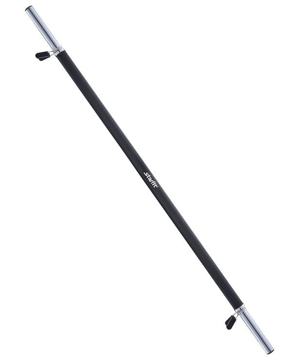 Гриф для штанги Starfit УТ-00007152 гриф для штанги bb 104 прямой d 25 мм 120 см с неопреновым покрытием
