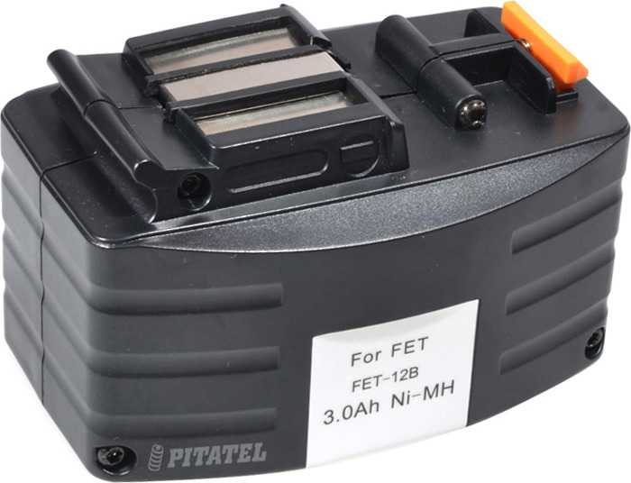 Аккумулятор для инструмента Pitatel для FESTOOL. TSB-003-FES12B-30M аккумулятор для инструмента dewalt pitatel tsb 021 de24 30m черный