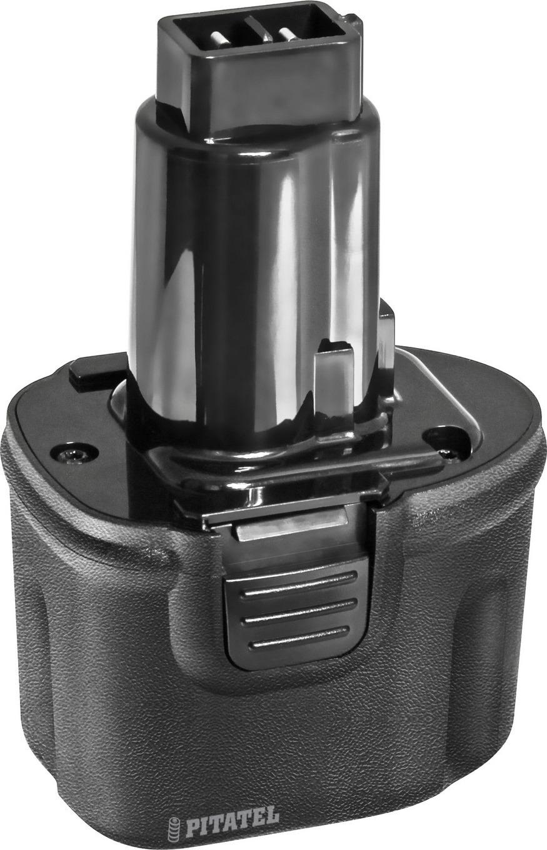 Аккумулятор для инструмента Pitatel TSB-011-DE72-15C, черный аккумулятор для инструмента makita pitatel tsb 038 mak96stick 21m черный