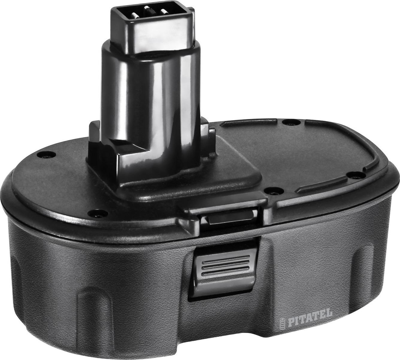 Аккумулятор для инструмента DEWALT Pitatel TSB-013-DE18A-15C, черный аккумулятор для инструмента dewalt pitatel tsb 021 de24 30m черный