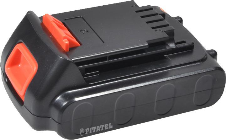 Аккумулятор для инструмента BLACK&DECKER Pitatel TSB-015-BD20-20L, черный батарея аккумуляторная pitatel tsb 207 met36 20l