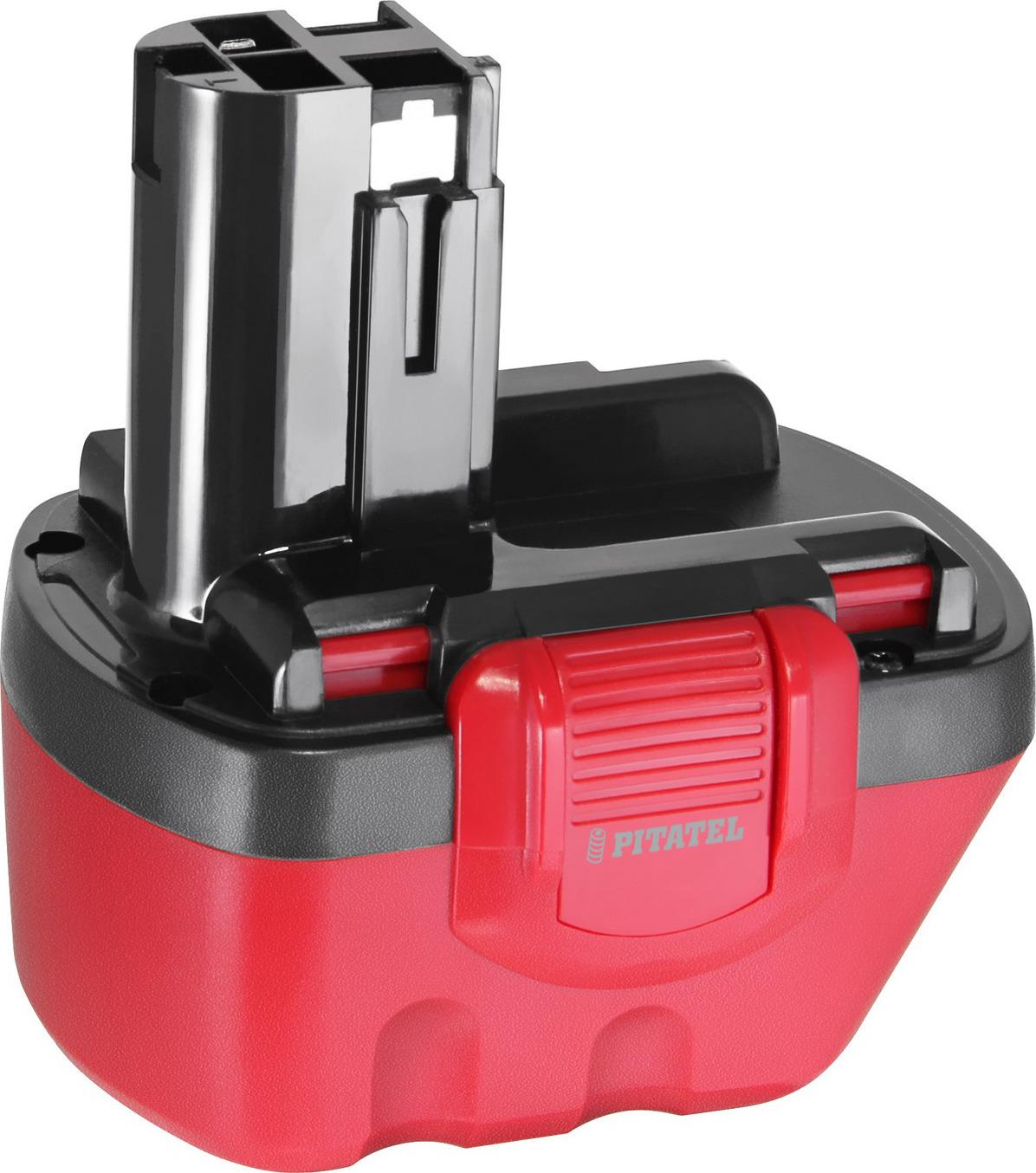 купить Аккумулятор для инструмента BOSCH Pitatel TSB-048-BOS12A-33M, вишневый-красный по цене 2490 рублей