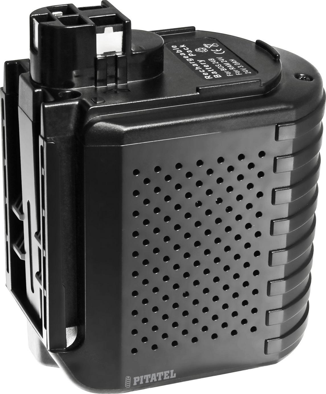 Аккумулятор для инструмента BOSCH Pitatel TSB-052-BOS24B-30M, черный аккумулятор для инструмента pitatel для panasonic tsb 182 pan24 30m