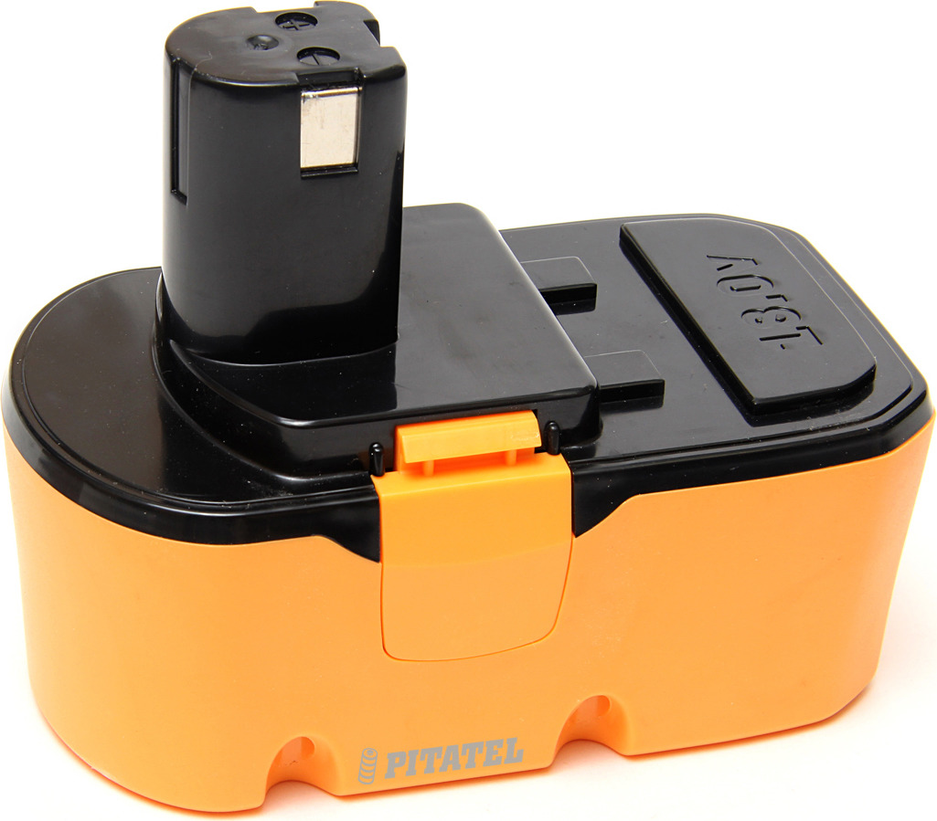 Аккумулятор для инструмента Pitatel TSB-151-RYO18A-15C для RYOBI, оранжевый, черный батарея аккумуляторная pitatel tsb 033 mak18a 15c