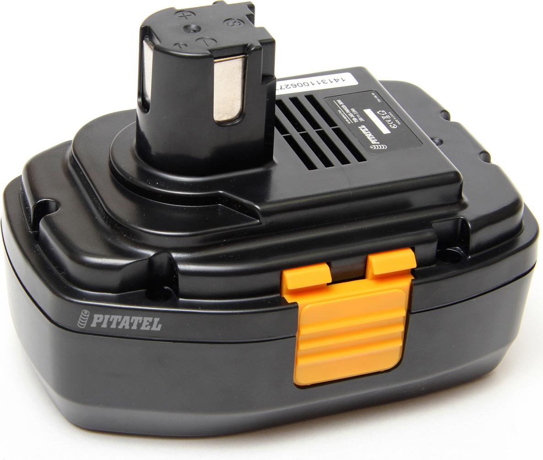 Аккумулятор для инструмента Pitatel TSB-165-PAN18-30M для PANASONIC, черный аккумулятор для инструмента pitatel для makita tsb 038 mak96stick 30m