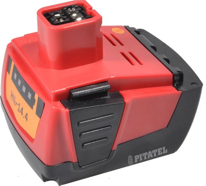 Аккумулятор для инструмента HILTI Pitatel TSB-200-HIL14-40L, черно-красный цена и фото
