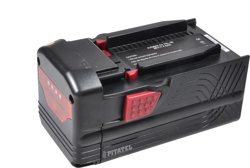 Аккумулятор для инструмента HILTI Pitatel TSB-202-HIL36-40L, черный батарея аккумуляторная pitatel tsb 207 met36 20l