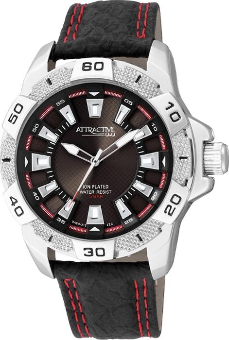 Часы наручные мужские Q & Q, цвет: черный. DA64-302 q