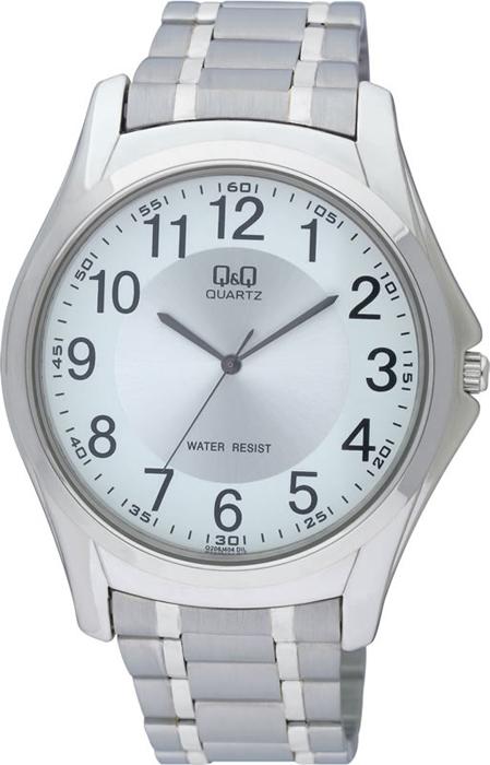 Часы наручные мужские Q & Q, цвет: серебристый. Q206-204 q