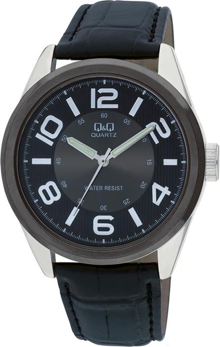 Часы наручные мужские Q & Q, цвет: черный. Q266-505 q