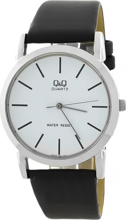 Часы наручные мужские Q & Q, цвет: черный. Q662-301 q