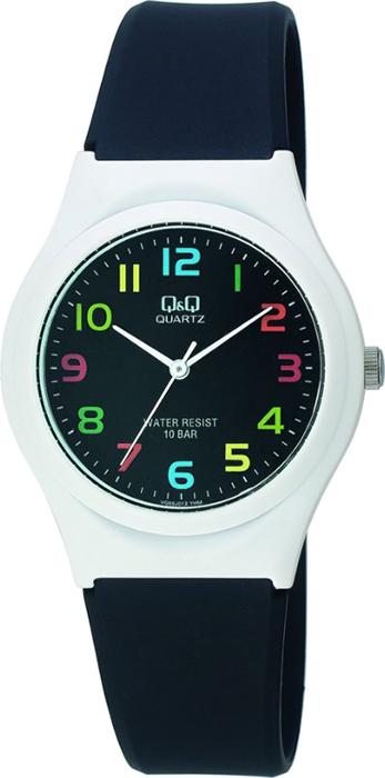 Часы наручные Q & Q, цвет: черный. VQ86-012 все цены