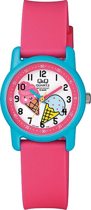 Часы наручные детские Q & Q, цвет: розовый. VR41-007 все цены