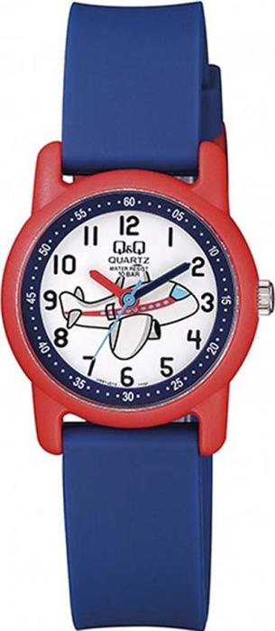 Часы наручные детские Q & Q, цвет: синий. VR41-010 цена и фото