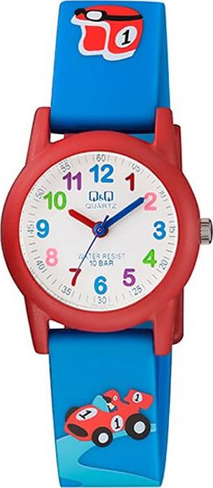 Часы наручные детские Q & Q, цвет: синий. VR99-004 цена и фото