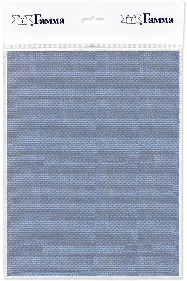 Канва для вышивки Gamma Aida №14, цвет: серый, 30 х 40 см. K04 александр кушнер канва