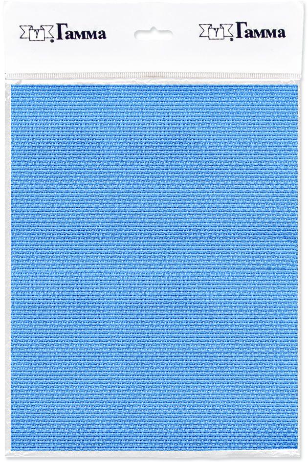 канва для вышивки gamma aida 11 цвет голубой 30 х 40 см k03 Канва для вышивки Gamma Aida №14, цвет: голубой, 30 х 40 см. K04