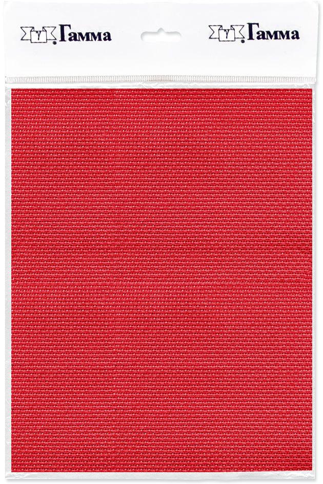 Канва для вышивки Gamma Aida №14, цвет: красный, 50 х 50 см. K04 александр кушнер канва