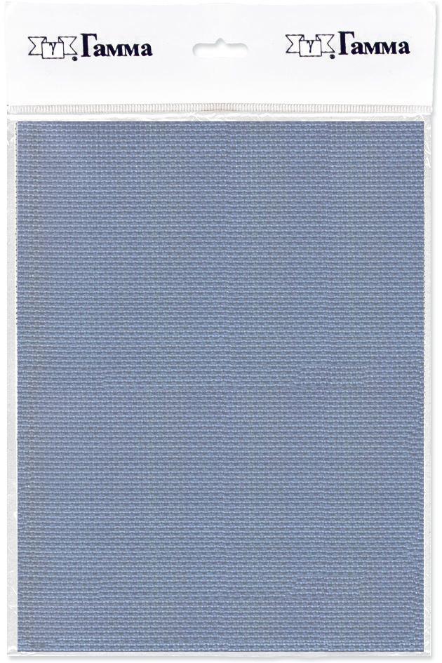 Канва для вышивки Gamma Aida №14, цвет: серый, 50 х 50 см. K04 александр кушнер канва