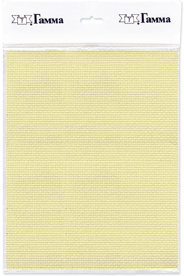 Канва для вышивки Gamma Aida №14, цвет: светло-желтый, 30 х 40 см. K04 александр кушнер канва