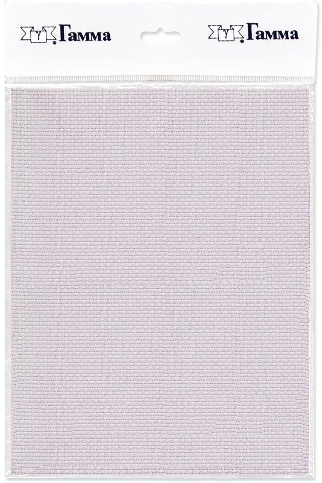 Канва для вышивки Gamma Aida №14, цвет: светло-сиреневый, 30 х 40 см. K04K04Канва К04 Гамма-ткань для вышивания. Состав: 100%хлопок Кол-во клеток: в 10см-55, в 1дюйме-14. Размер: 30х40 см (Плотность: 220г/кв.м) Канва используется в качестве основы для вышивания крестом, полукрестом. Канва достаточно жесткая, плотная и позволяет вышивать без использования пялец.