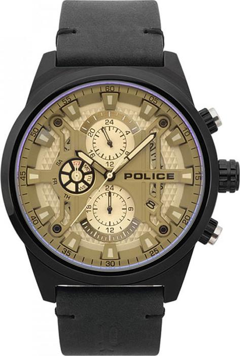 Наручные часы мужские Police, цвет: черный. PL.15383JSB/04 все цены