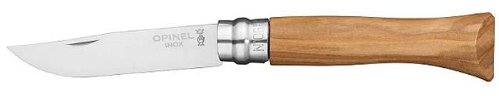 Нож складной Opinel Tradition Luxury, рукоять олива, клинок 7 см нож складной opinel tradition клинок 6 см