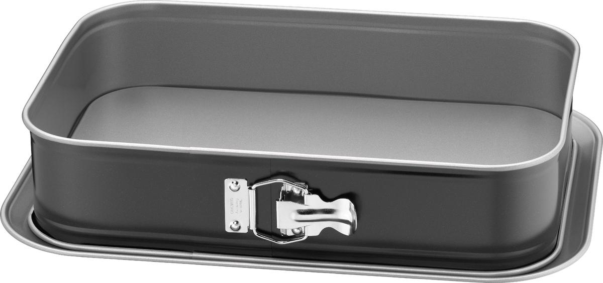 Форма для выпечки Kaiser Inspiration, разъемная, с антипригарным покрытием, прямоугольная, 36 х 24 см форма для выпечки taller прямоугольная с антипригарным покрытием 36 5 х 23 см