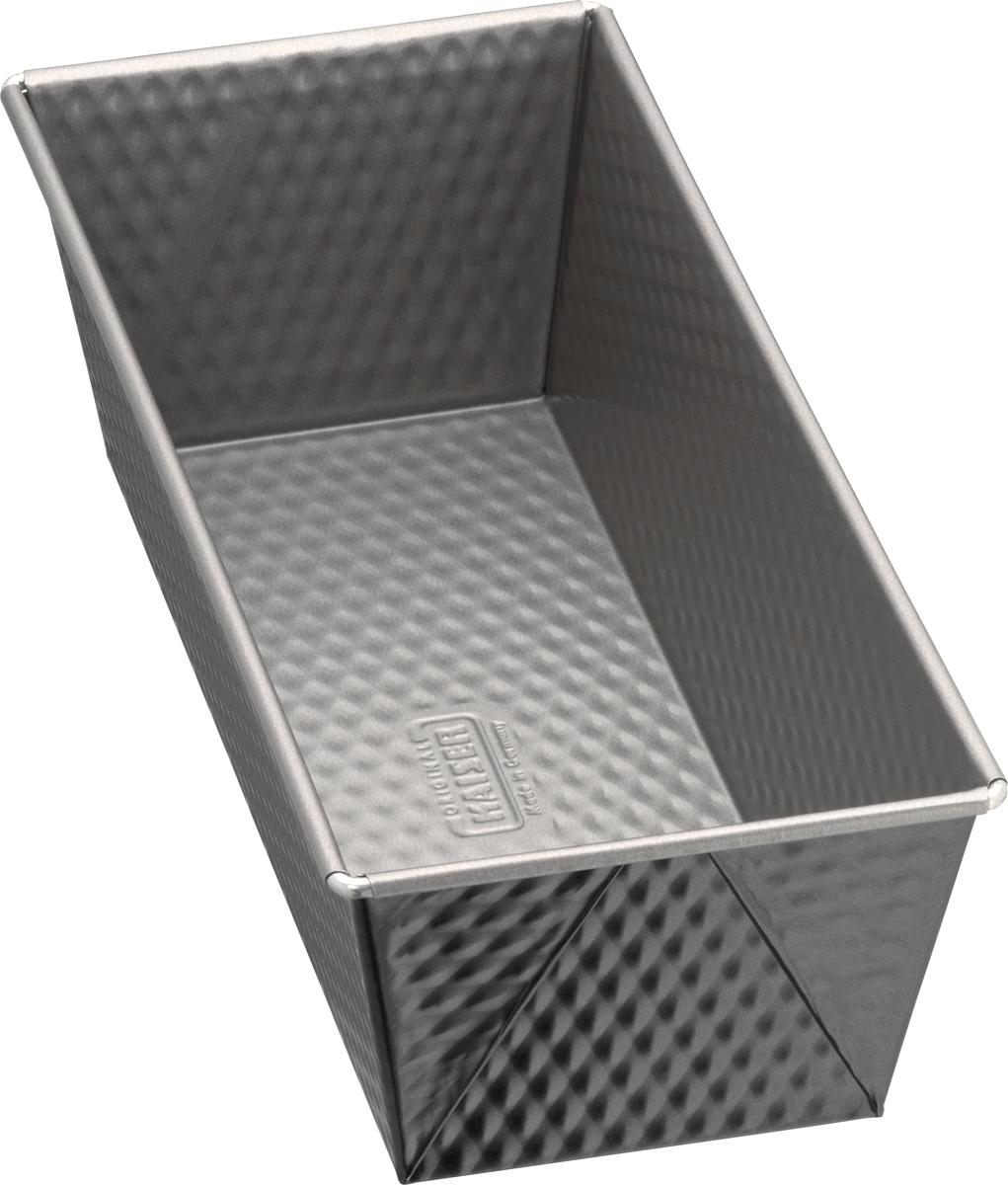 Форма для выпечки кекса Kaiser Inspiration, с антипригарным покрытием, прямоугольная, длина 25 см форма для выпечки taller прямоугольная с антипригарным покрытием 36 5 х 23 см
