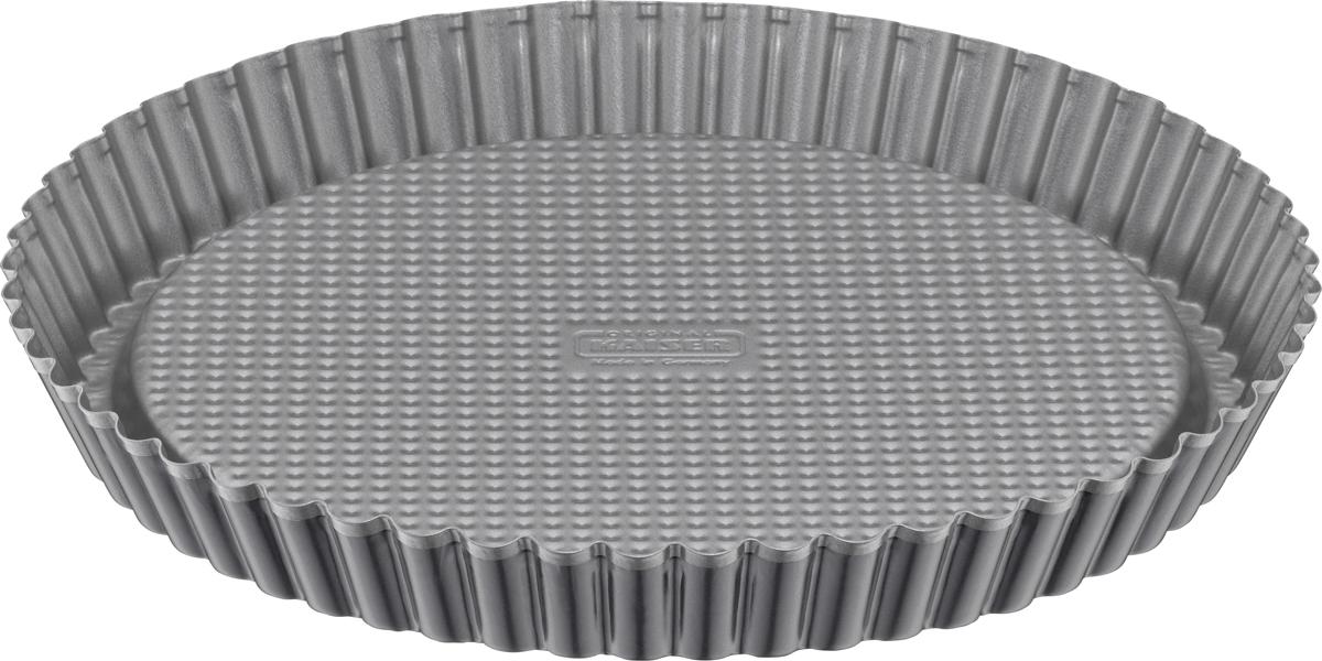 Форма для пирога Kaiser Inspiration, с антипригарным покрытием, с волнистыми краями, диаметр 28 см3201000087Форма для пирога с волнистыми краями 28 см Inspiration