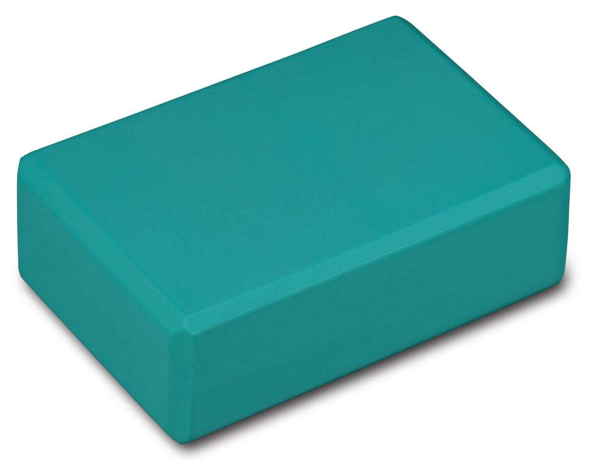 Блок для йоги Indigo, цвет: зеленый недорго, оригинальная цена