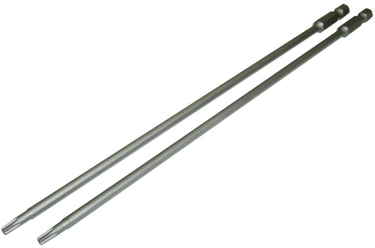 Биты Skrab, регулярные, T20x150, 2 шт43503Биты Skrab отличаются высоким ресурсом, прочностью и точностью. Они изготовлены из высококачественной стали S2 методом ковки.