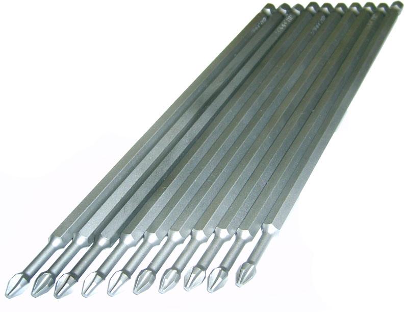 Биты PH 2 x 200мм 10 шт торсионные биты skrab торсионные ph 2 x 150 мм 10 шт