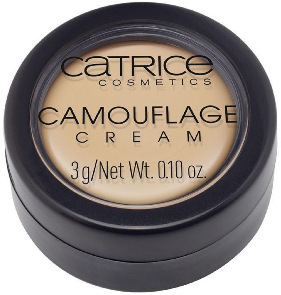 Консилер Catrice CamouflageCream, оттенок 015 Fair, 3 г
