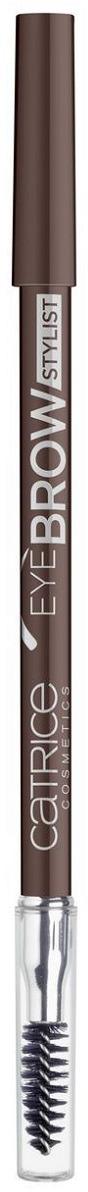 Контур для бровейCatrice EyeBrowStylist,со щеточкой, оттенок 025 Perfect Brown, 5 мл недорого