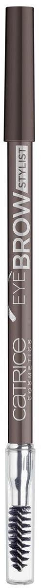 Контур для бровейCatrice EyeBrowStylist,со щеточкой, оттенок 035 Brown Eye Crown, 5 мл маркер для бровей с аппликатором щеточкой catrice brow comb designer pro