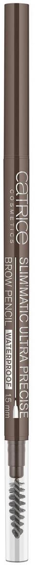 Контур для бровейCatriceSlim'maticUltraPreciseBrow PencilWaterproof, оттенок 040 Cool Brown, 0,05 г недорого